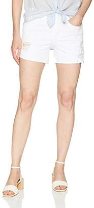 Level 99 Women's Mia Raw Hem BTN Fly Short