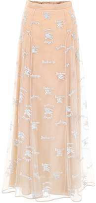 Burberry Mesh Sybilla Skirt