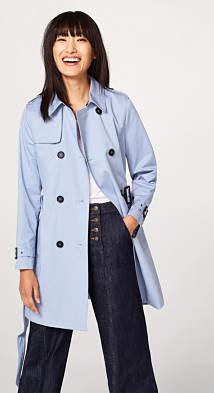Esprit Classic trench coat in cotton