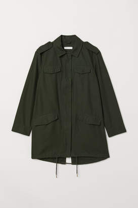 H&M Long Utility Jacket - Green