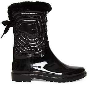 Kate Spade Women's Stormy Quilted Faux Fur Boots