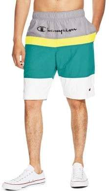 Champion Colorblocked Woven Shorts