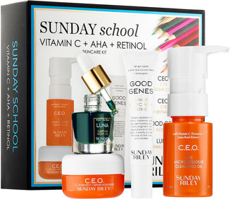 SUNDAY RILEY Sunday School Skincare Set $60 thestylecure.com