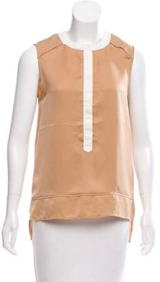 Belstaff Sleeveless Asymmetrical Top