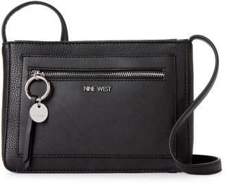 Nine West Black Addilyn Crossbody
