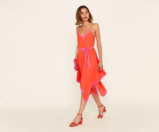 Oasis Colourblock Hanky Dress