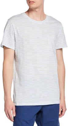 Onia Men's Chad Striped Short-Sleeve Jersey T-Shirt