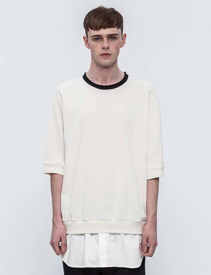 3.1 Phillip Lim Layered S/S Sweatshirt