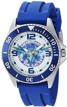 Marvel Men's Guardian' Quartz Stainless Steel and Rubber Casual Watch