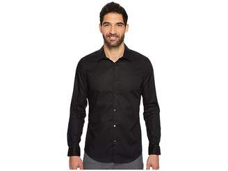 Calvin Klein Slim Fit Long Sleeve Infinite Cool Chambray Twill Shirt