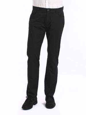 Calvin Klein Four-Pocket Sateen Pants