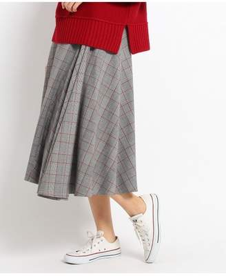 Dessin (デッサン) - Dessin(Ladies) グレンチェックフレアスカート デッサン スカート