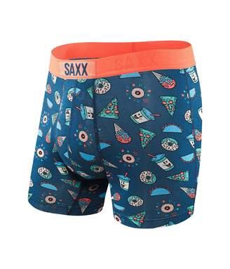 Saxx Vibe Boxer Briefs - Patched Plaid