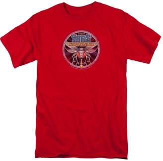 Atari Video Games Yars' Revenge 2600 Game Retro Patch Adult T-Shirt Tee