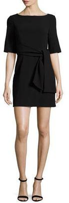 Alice + Olivia Virgil Boat-Neck Belted Dress $350 thestylecure.com