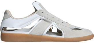 Maison Margiela Cut-out Replica Leather Sneakers