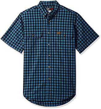 Wrangler Men's Riggs Workwear Foreman Plaid Work Shirt
