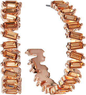 Panacea Baguette Hoop Earrings