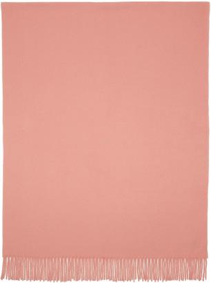 Acne Studios Pink Canada Wide Scarf $180 thestylecure.com