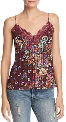WAYF Norah Floral Lace-Trim Camisole - 100% Exclusive