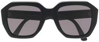 Celine oversized geometric sunglasses