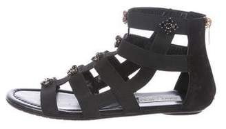 Jimmy Choo Embellished Gladiator Sandals