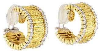 Roberto Coin 18K Diamond Earrings