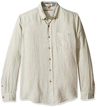 Tailor Vintage Men's Long Sleeve 100% Linen Shirt