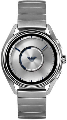 Emporio Armani Men's Stainless Steel Bracelet Touchscreen Smart Watch 43mm