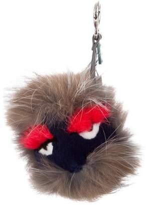 Fendi Fur Freak Bag Bug Charm w  Tags 5c8af57245