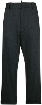 DSQUARED2 high-waisted tailored trousers