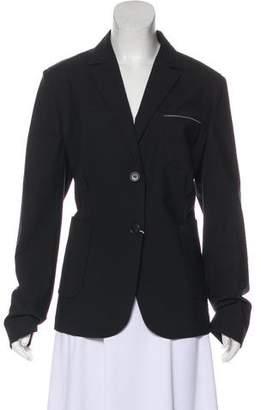 Brunello Cucinelli Monili-Accented Virgin Wool Blazer w/ Tags