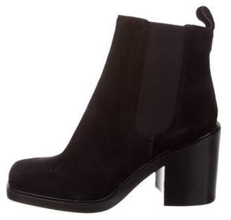 Givenchy Suede Adriana Boots Black Suede Adriana Boots