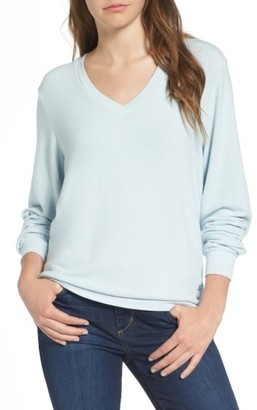 Women's Wildfox V-Neck Pullover $98 thestylecure.com