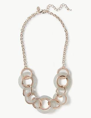 M&S Collection Glitter Double Necklace