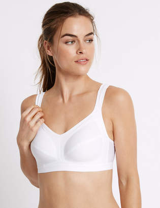 Marks and Spencer 2 Pack High Impact Non-Wired Sports Bras A-GG