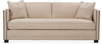 One Kings Lane Shaw Bench-Seat Sofa - Natural