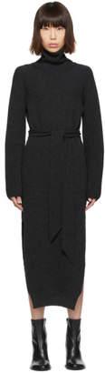 Nanushka Grey Knit Turtleneck Dress