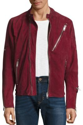 DieselDiesel Mackson Sheepskin Leather Moto Jacket