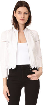 3.1 Phillip Lim Victoriana Jacket with Floral Embroidery $425 thestylecure.com