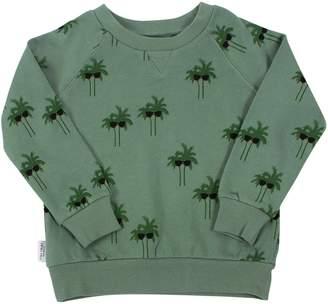 TINY TRIBE Palm Print Sweatshirt