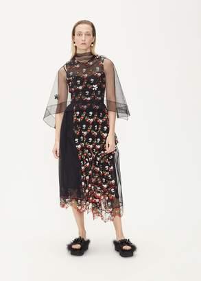 Simone Rocha Gathered Patchwork Dress