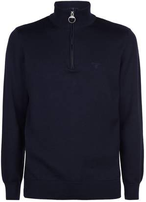 Barbour Cotton Funnel Neck Sweater