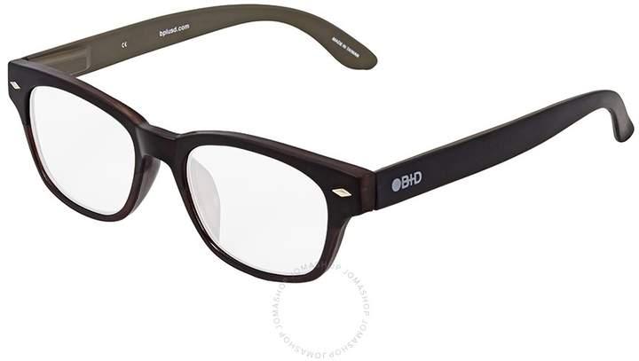 B+D Super Bold Reader Brilliant Black Eyeglasses