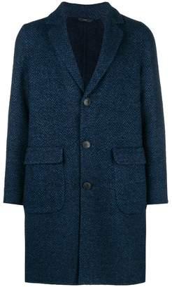 Hevo single-breasted coat