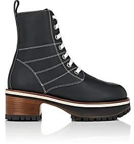 Sies Marjan Women's Jessa Leather Ankle Boots - Dark Navy