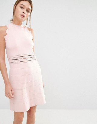 Ted Baker Natleah Knitted Mini Dress $261 thestylecure.com