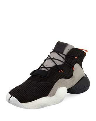 adidas Crazy BYW Mixed Fabric Sneaker, Black