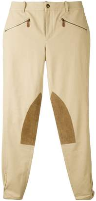 Ralph Lauren knee patch skinny trousers