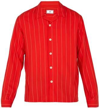Ami Striped twill shirt
